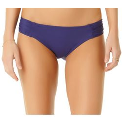 Cole of California Womens Shirred Tab Swim Bottoms