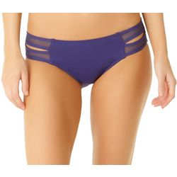 Cole of California Womens Mesh Tab Side Swim Bottoms