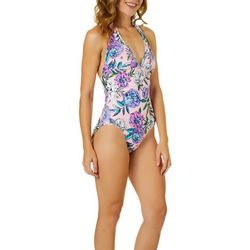 Vera Bradley Womens Meadow Reversible One Peice Swimsuit