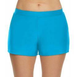 Beach Diva Solid Swim Short