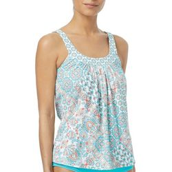 Coco Reef Womens Ultra Fit Medallion Tankini Top