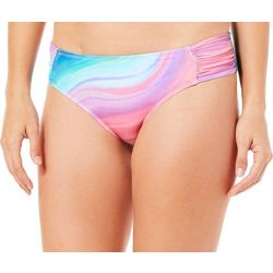 Reel Legends Womens Geode Tab Side Swim Bottoms