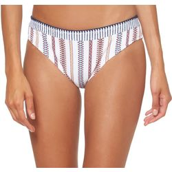 Jessica Simpson Womens Line It Up Hipster Swim Bottoms