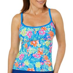 Into the Bleu Womens Maui Tankini Top