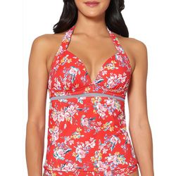 Jessica Simpson Womens Chantilly Lace Tankini Top