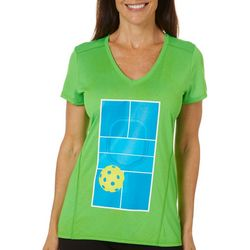 Anvil Womens  Pickleball Court Tech T-Shirt