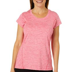 Etonic Womens Heathered Crew Neck T-Shirt