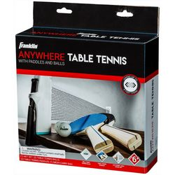 Franklin Sports Anywhere Table Tennis 5 Piece Set