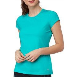 Fila Womens Court Allure Solid Cap Sleeve Active