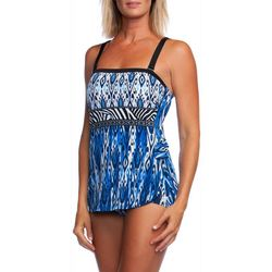 Maxine Womens Safari Sarong One Piece Swimsuit