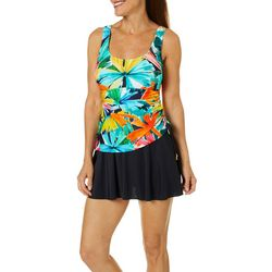 Maxine Of Hollywood Womens Cocktail Hour Swimdress