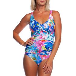 ea1e1866f70e6 Maxine Womens Potpourri Mio One Piece Swimsuit