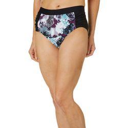 Gloria Vanderbilt Womens Amanda Floral Swim Bottoms