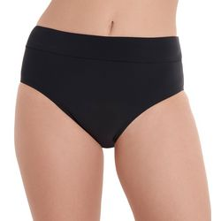 Caribbean Joe Womens Solid Driftwood Shaper Swim Bottoms