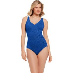Paradise Bay Womens Mick Racerback One Piece Swimsuit