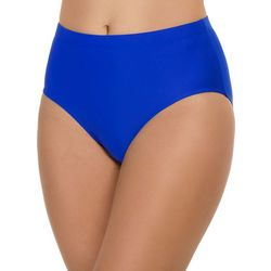 Paradise Bay Womens Solid Swim Briefs