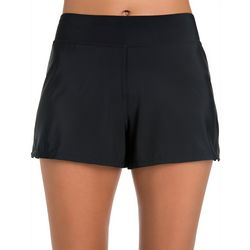 Paradise Bay Womens Tummy Control Swim Shorts
