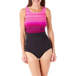 Reebok Womens Desert Rays One Piece Swimsuit