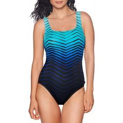 Reebok Womens Prime Performance One Piece Swimsuit