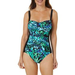 Emerald Bay Womens Butterfly Mio One Piece Swimsuit