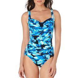 Trimshaper Womens Aspen Avery One Piece Swimsuit