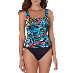 Trimshaper Womens Mamba Debbie One Piece Swimsuit