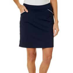 Ruby Road Golf Womens Solid Pull On Skort