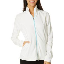 Puma Womens Slim Solid Mock Neck Zippered Track Jacket