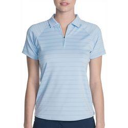 Skechers Womens Go Golf Eagle Stripe Polo Shirt