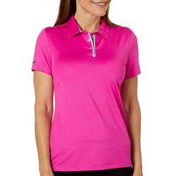 Skechers Womens Go Golf Pitch Short Sleeve Polo Shirt