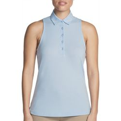 Skechers Womens Go Golf Comfort Swing Sleeveless Polo Shirt