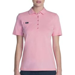 Skechers Womens Go Golf Comfort Swing Pocket Polo Shirt