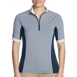 Skechers Womens Go Golf Fairway Stripe Polo Shirt