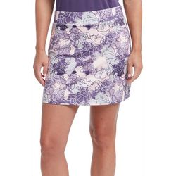 Pebble Beach Womens Impatiens Print Skort
