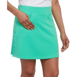 Pebble Beach Womens Solid Skort