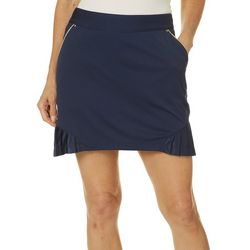 Greg Norman Collection Womens Goldie Pull On Skort