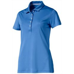 Puma Golf Womens Pounce Solid Short Sleeve Polo Top