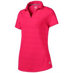 Puma Golf Womens 2019 Coastal Polo Short Sleeve Polo Top