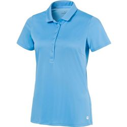 Puma Golf Womens Rotation Solid Short Sleeve Polo Top