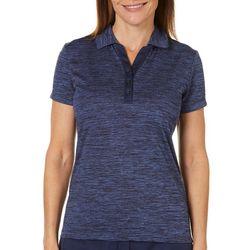 IZOD Golf Womens Heathered Polo Shirt