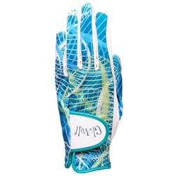 Glove It Womens Floral Leaf Print Golf Glove