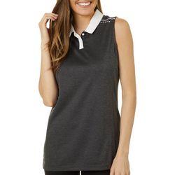 Oakley Womens Balata Sleeveless Polo Shirt