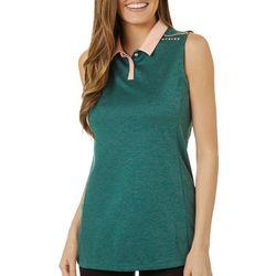 Oakley Womens Balata Sleeveless Heathered Polo Shirt
