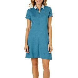 Oakley Womens Bella Heathered Short Sleeve Golf Dress