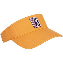 PGA Tour Womens Solid Textured Logo Visor