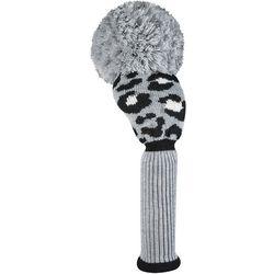 Just4Golf Womens Leopard Driver Golf Club Headcover