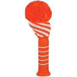 Just4Golf Womens Diagonal Stripe Driver Golf Club Headcover