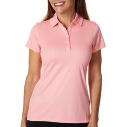 Columbia Golf Womens Flip Short Sleeve Polo Top