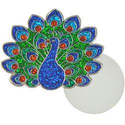 Navika Womens Peacock Ball Marker Lapel Pin