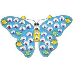 Navika Womens Butterfly Ball Marker Hat Clip